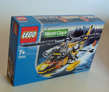 Lego ® World City 7044 Rescue Helicopter 201 Parts 7+ - NEW