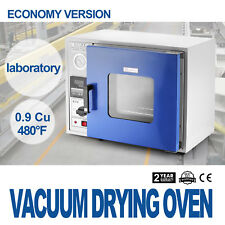 0.9Cu Vakuumtrockenschrank Vakuumofen Trockenofen 250℃ Secure Timer Control