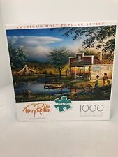 Terry Redlin SUMMERTIME Buffalo 1000 pieces jigsaw puzzle pre-owned