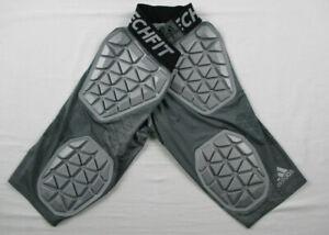 adidas Techfit Padded Compression Shorts boys  Gray Climacool Small