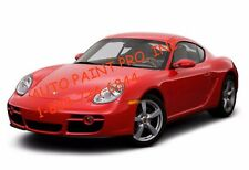 Porsche Red/Guards Red 027 acrylic enamel single stage restoration auto paint kt