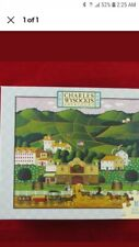 HTF RARE CHARLES WYSOCKI 1000 PIECE PUZZLE- OLD COUNTRY CELLARS-NEW
