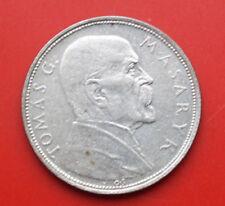 Tschechoslowakei: 10 Korun 1928 Silber, VZ-XF, #F2470- T.G.Masaryk, KM# 12, TOP