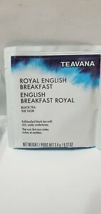 TEAVANA Royal English Breakfast Black Tea Starbucks 24 Satchets .