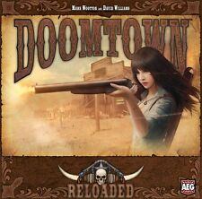 Doomtown Reloaded Card Game New Factory Sealed Board Game Base Set