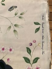 Sanderson Richmond Hill Prints Pavillion fabric length 2.6m cotton/linen mix