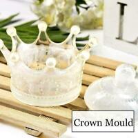 DIY handgefertigte Craft Crown Silikonharz Epoxy Mold R5E5 Aufbewahrungsbox B0Q9
