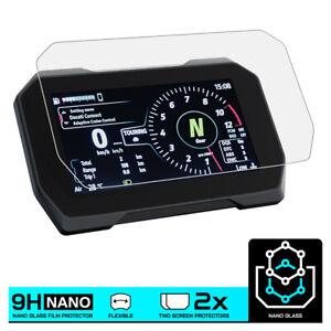 DUCATI MULTISTRADA V4S (2021-) NANO GLASS Dashboard Screen Protector x 2
