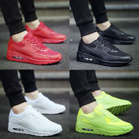 Mens Running Trainers Relaxed Lace up Running Gym Walking Boys Sports Shoes