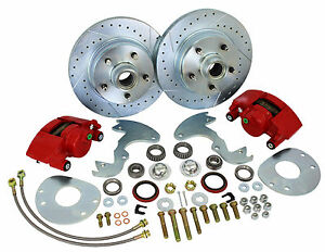 Performance Online 1963-65 Buick Riviera Deluxe Front Disc Brake Conversion Kit