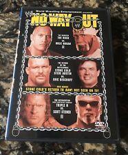 WWE - No Way Out 2003 RARE (DVD, 2003)