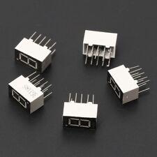 "5Pcs 0.36"" Common Cathode 1 Bit 10 Pin 7 Segment Red LED Display Digital Tubes"