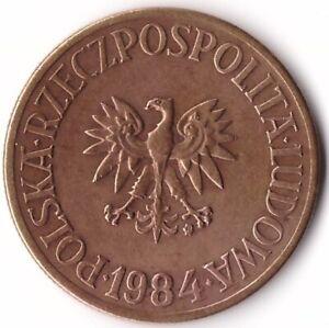 5 Zlotych 1984 Poland Coin Y#81.1