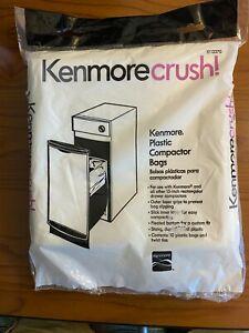 Kenmore 13370 Plastic Compactor Trash Bags Kenmorecrush (10 Count)