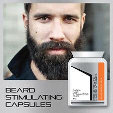 PRO GROWTH MENS BEARD GROWTH PILLS FACIAL HAIR BEARD STIMULATING CAPSULES