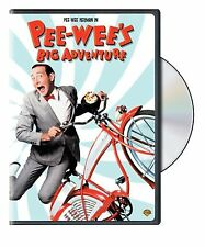 Pee-wee's Big Adventure (1985) Tim Burton * Region 1 (UK) DVD * New