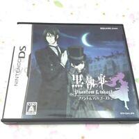 USED Nintendo DS Kuroshitsuji Phantom & Ghost 05869 JAPAN IMPORT