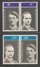 Ireland #285a & 287a VF MNH - 1970 Tomas MacCurtain and Terence MacSwiney