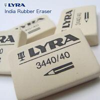 6 x Lyra School Rubber Erasers - Soft Grade Pencil Eraser - Made in Germany