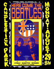 "The Beatles Candlestick Park Poster Replica 14 x 11"" Photo Print"