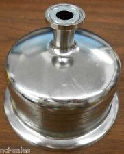 "PALL FILTER HOUSING CAP PHQ 53411 4.136"" DIAMETER W/ 1/2"" SANITARY TRI CLAMP"