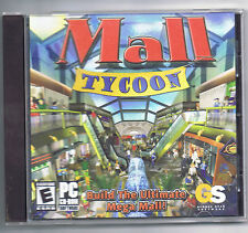 Mall Tycoon  (PC, 2002)  Free Shipping!!