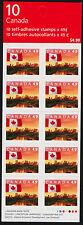 Canada 2011 Booklet BK280Aa MNH Flag over Edmonton