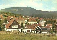 AK, Braunlage Harz, Teilansicht mit Wurmberg, ca. 1965