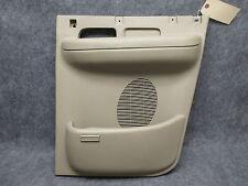 2001-2003 Ford F150 Supercab RH Rear Lower 1/2 Door Panel Arm Rest Beige 19302