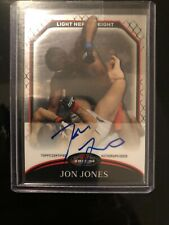 2011 Topps Finest UFC Jon Jones Moments Autograph