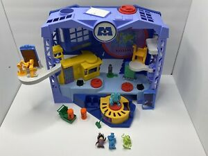 Monsters Inc Imaginext Scare Floor Play set Disney Sully Mike Figures Doors Lot