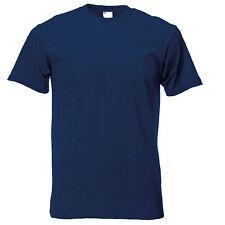 Camiseta casual de manga corta para hombre Azul Marino