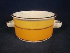 WEDGWOOD MIDWINTER Stonehenge SUN Handled Cream Soup Bowl