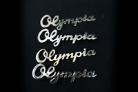 1x Olympia original Emblem Typenschild Schriftzug Radio vintage