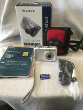 Sony Cybershot DSC-S700 7.2MP Digital Camera 3x Optical Zoom (Works Great) Case