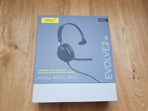 BRAND NEW JABRA EVOLVE2 40 BUSINESS USB-A MONO HEADSET - RRP £80
