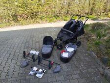 TFK Geschwisterwagen / Zwillingswagen Twinner Lite Grau Kinderwagen 1.Hand