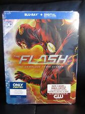 The Flash Season 3 Blu-Ray Digital HD Steelbook Best Buy Sealed New Region Free