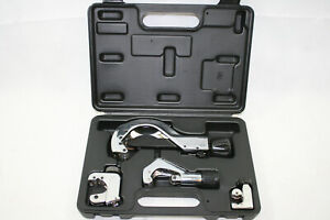 """NEW Mastercool 70090-A Deluxe Tubing Cutter Kit  w/Case 1/8"""" - 2 3/4"""" OD Tubing"""