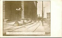 Vtg 1906 Sink in Road from Earthquake, San Francisco California CA Postcard