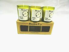 Gin and Tonic Mini Wine Bottle Scented Candles Set of 3  Boxed Home Fragrance