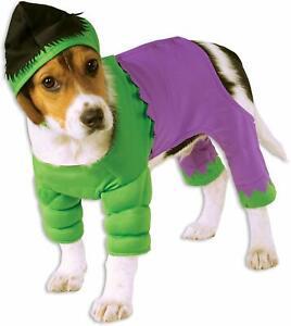 The HULK Dog Costume - M or L - Marvel - Green & Purple - Rubie's Costume  NWT