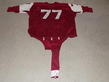 Temple Owls Game Worn Football Jersey 1960s Dureen #77