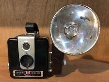 Vintage Eastman Kodak Brownie Hawkeye Flash Model Box Camera w/Midget Flash Arm