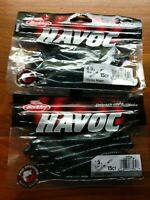"Lot of 30 ct Berkley 4.5"" & 5"" Havoc Junebug Money Makers"