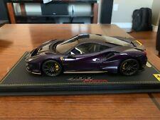1/18 BBR Ferrari 488 Pista Violet Hong Kong Color (Metallic Purple)
