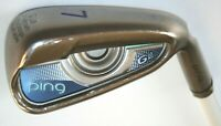 Ping G Le 7 Iron with Ping Lite 230 ladies graphite shaft CART CLUB