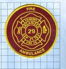 Fire Patch - Pomeroy Organized Sep 21, 1921
