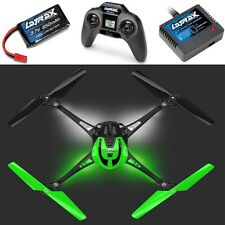 Traxxas 6608 LaTrax Alias Quad-Copter RTR w Transmitter Battery Charger Green