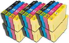 24 T1295 non-OEM Ink Cartridges For Epson T1291-4 Stylus Workforce WF-3530DTWF